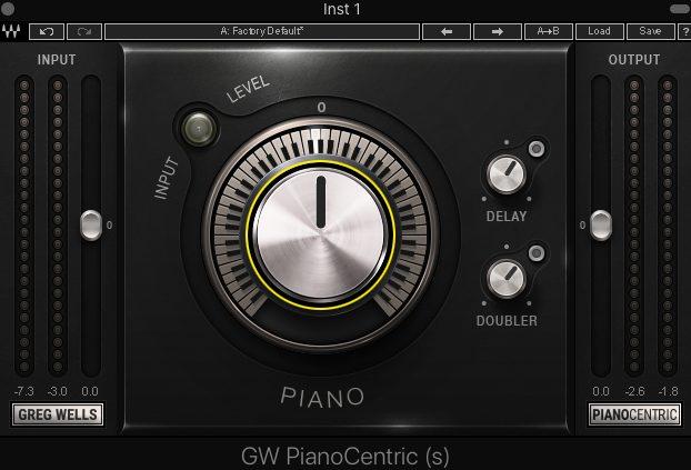 ピアノを最適なバランスに調整するプラグイン waves「GW PianoCentric」レビュー